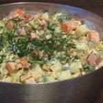 【ロシア料理】お正月定番サラダ「оливье」(オリヴィエ)